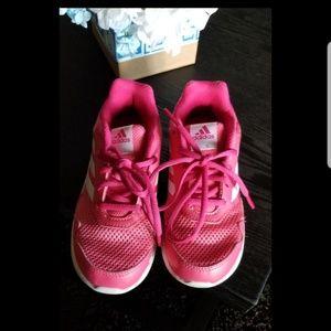 Girls Adidas running shoes
